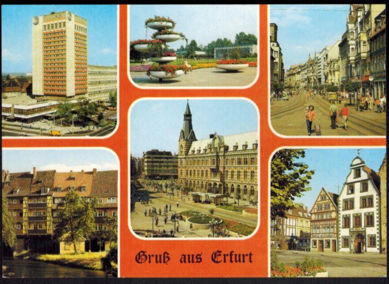 Ansichtskarte Erfurt Thüringen