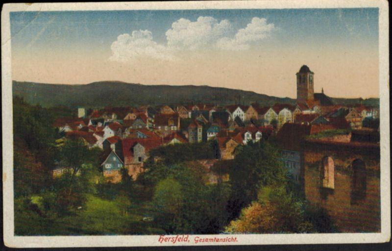 Ansichtskarte Hersfeld Hessen