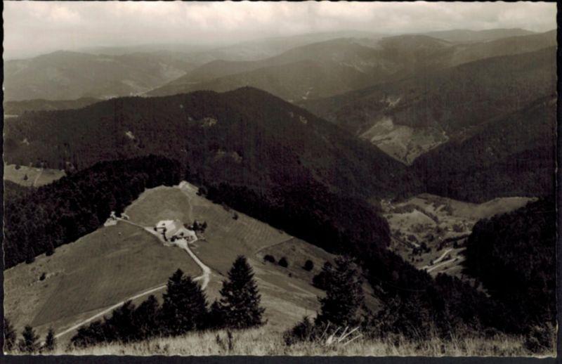 Ansichtskarte Kälbelescheuer Almgaststätte Münstertal Baden-Württemberg