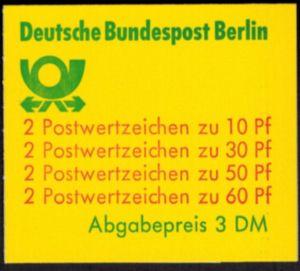 Berlin Markenheftchen 12 ca I oZ Burgen und Schlösser 1980 tadellos postfrisch