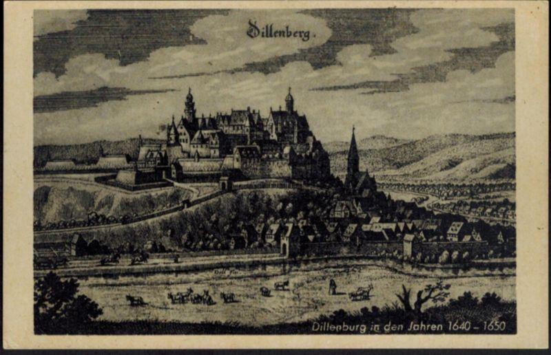 Ansichtskarte Dillenburg Hessen