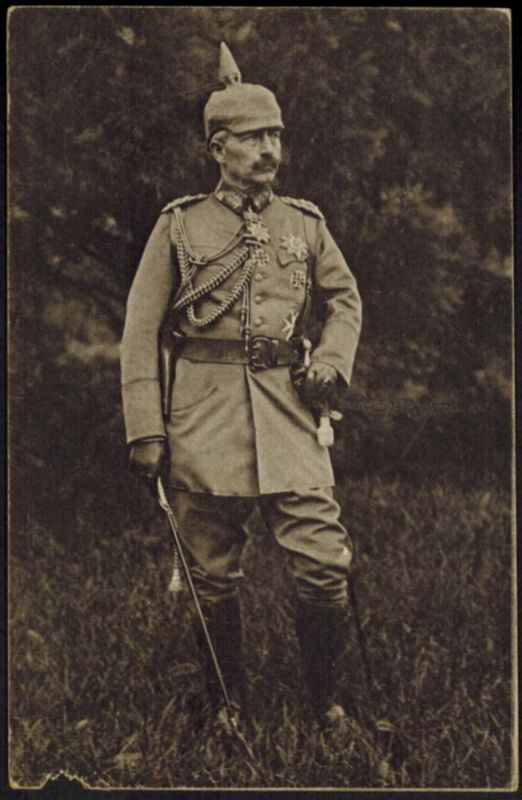 Ansichtskarte Feldpostkarte Rotes Kreuz I. WK. Kupfertiefdruck Kaiser