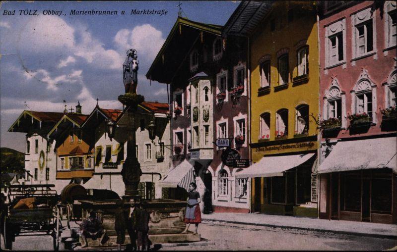 Ansichtskarte Bad Tölz Obbay Bayern 1943 nach Köln - Ehrenfeld