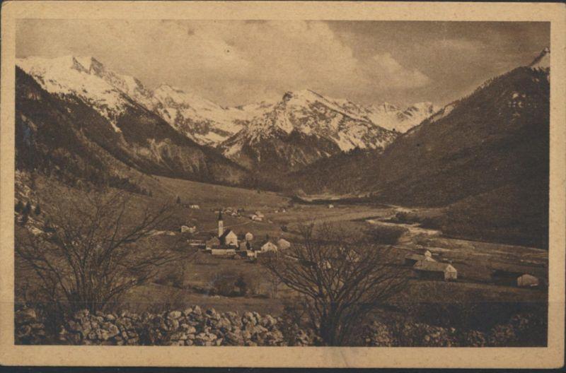 Ansichtskarte Foto Hinterstein in Allgäuer Bergen Sonthofen nach München