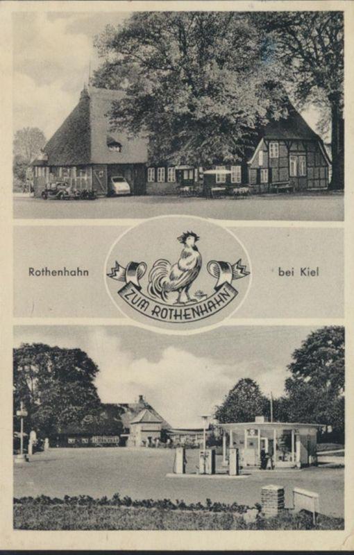 Ansichtskarte Foto Landpost Gasthaus Rothenhahn bei Kiel Bundesgartenschau