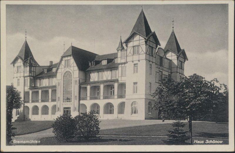 Ansichtskarte Gremsmühlen Haus Schönow Zimmermann Verlag