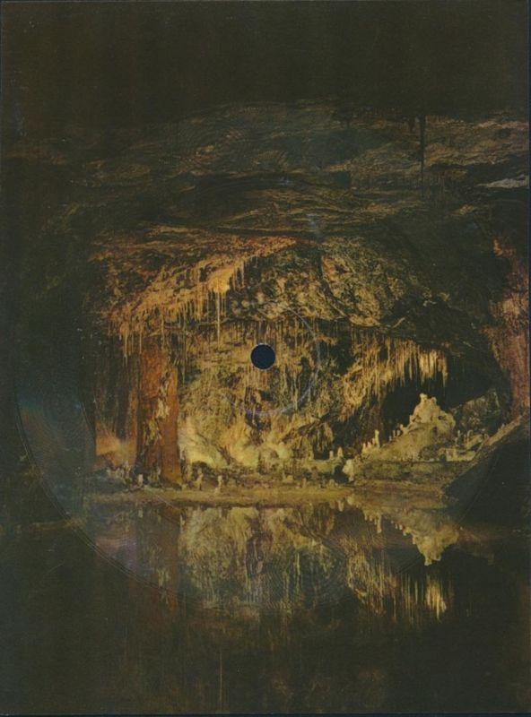Schallbildkarte Schallplatte In der Halle der Bergkönigs Saalfeld Feengrotte