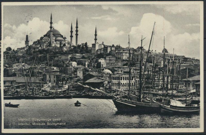Ansichtskarte Istanbul Türkei 22.9.1942 mit NS - Zensur