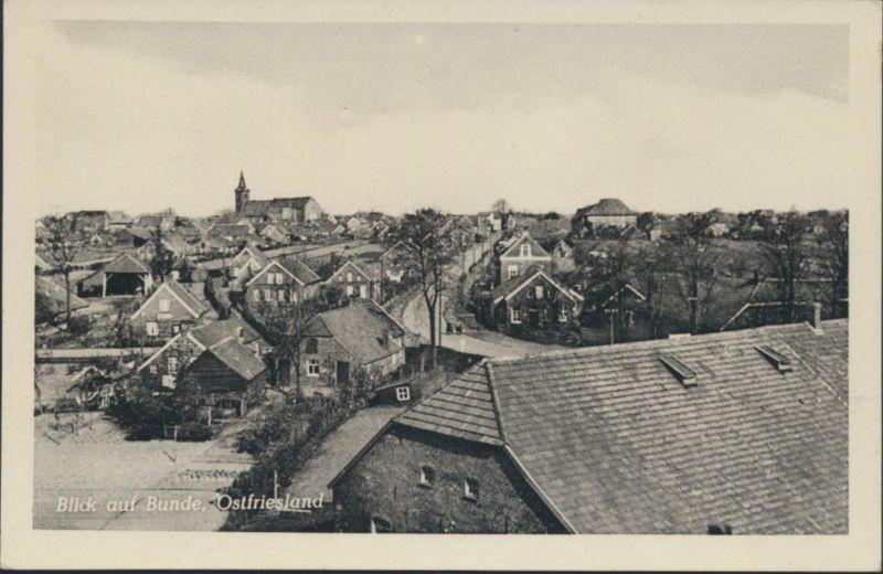 Ansichtskarte Bunde Ostfriesland Foto Gesamtansicht