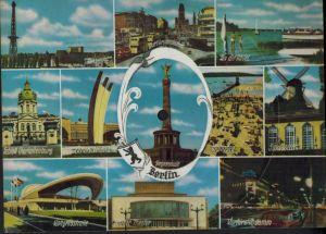 Musik Tönende Ansichtskarte Bobby Kamp G. Schwenn Heimweh nach Kurfürstendamm