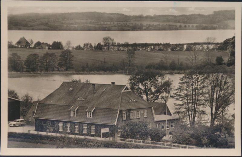 Ansichtskarte Foto Fährhaus Nieder Kleevez Gasthaus und Pension nach Hamburg
