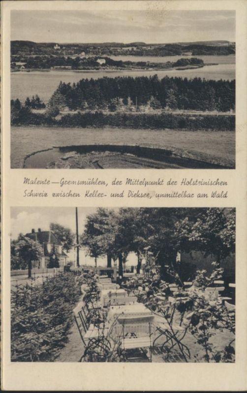 Ansichtskarte Foto Kartographie Malente Gremsmühlen Holsteinische Schweiz