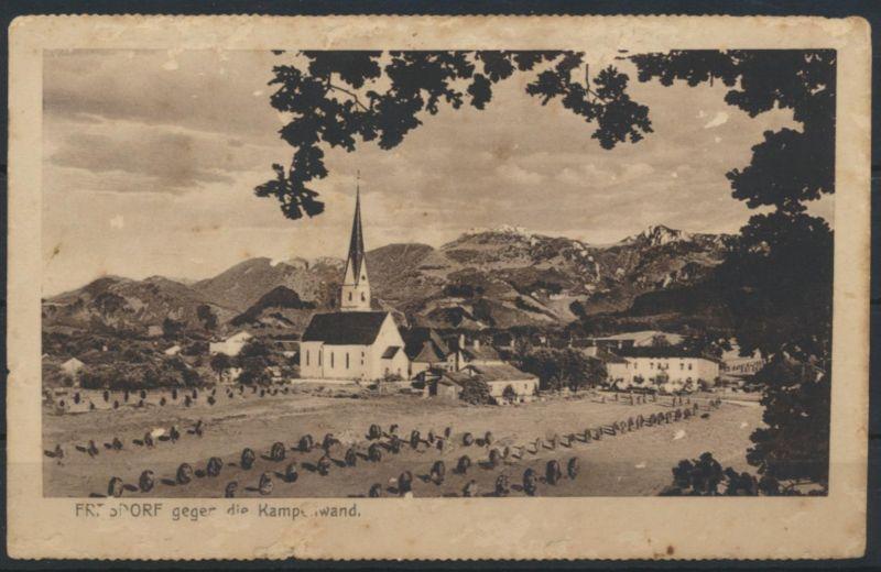 Ansichtskarte Frasdorf Bayern