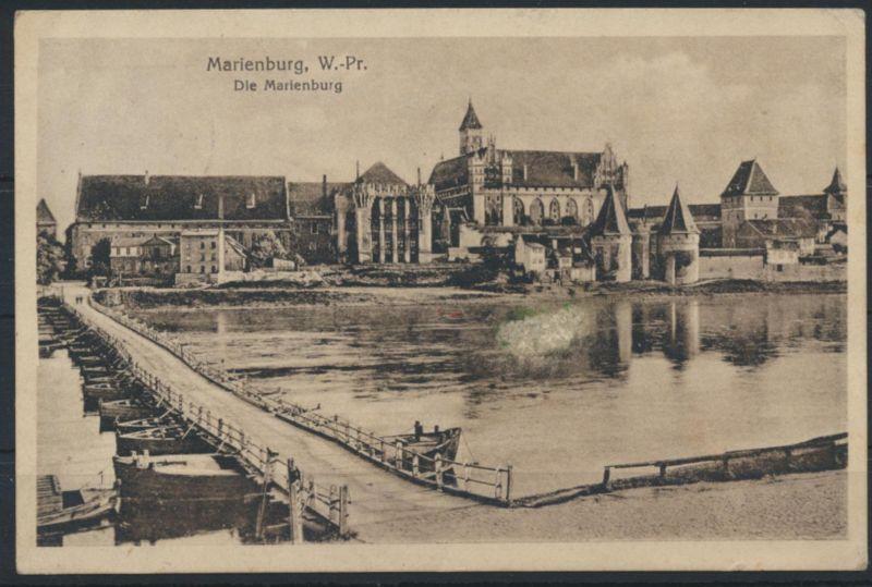 Ansichtskarte Marienburg Westpreussen 1928 nach Köln