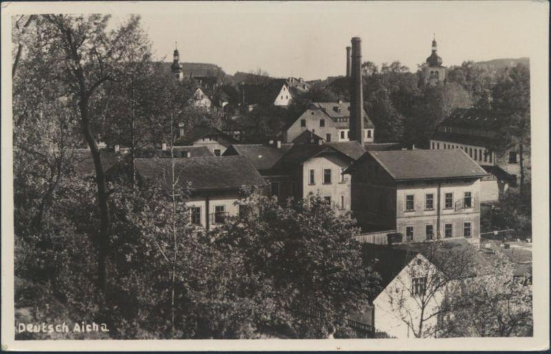 Ansichtskarte Deutsch Aicha Český Dub Tschechien Böhmen Deutsche Gebiete Bremen