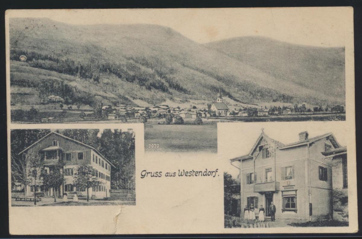 Österreich Westendorf Ansichtskarte Brixental Tirol