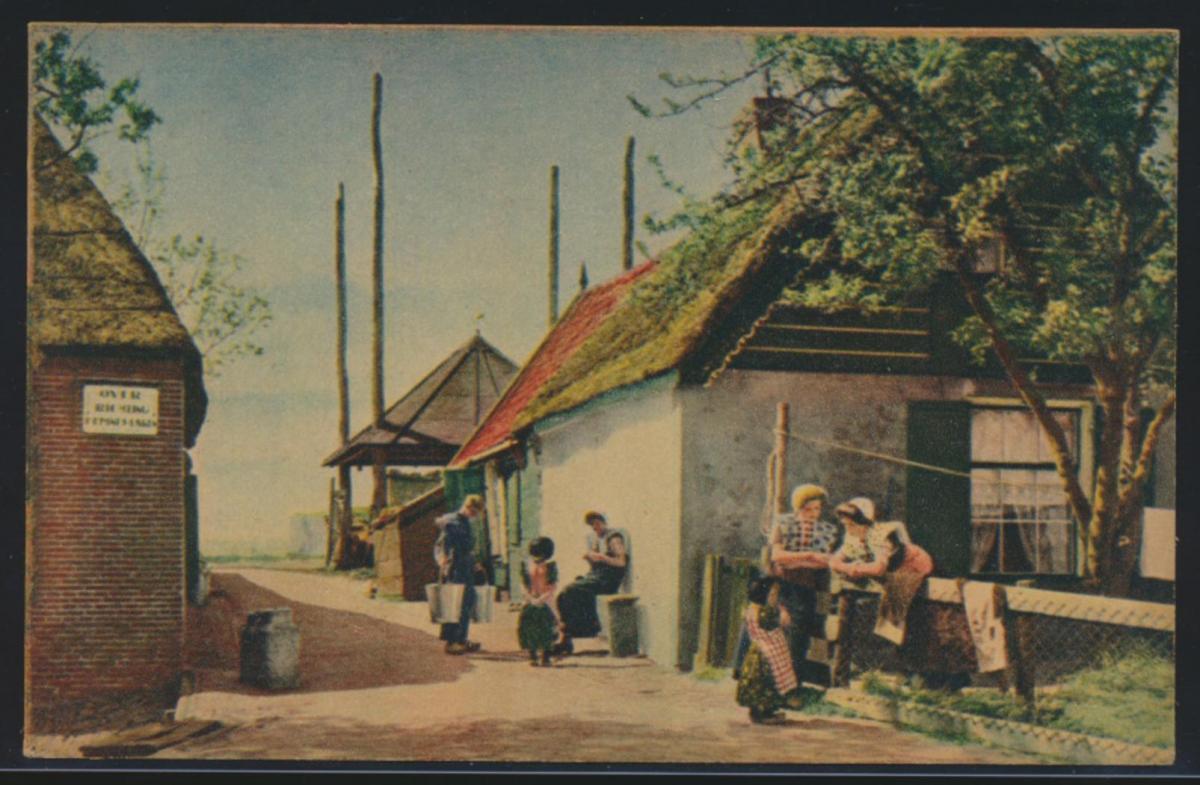 Ansichtskarte Eemdijk Niederlande Fluß Eem Utrecht Bunschoten Spakenburg
