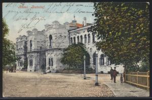 Ansichtskarte Reval Bahnhof Wiruplatz Tallinn Estland