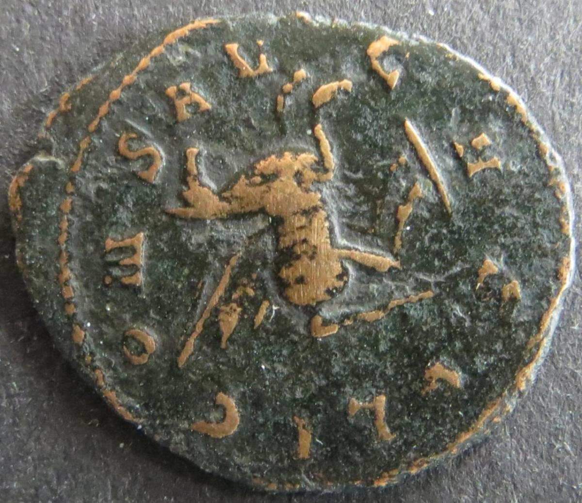 Römische Münze Galliemus 253-268 Antoninian RS: Pegasus ss