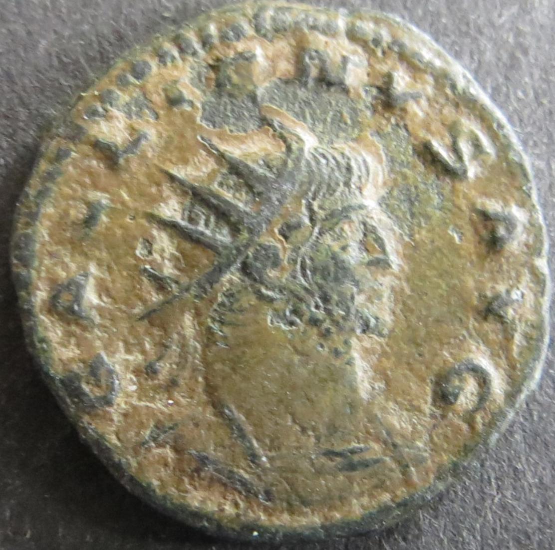Römische Münze Galliemus 253-268 Antoninian RS: Krieger s