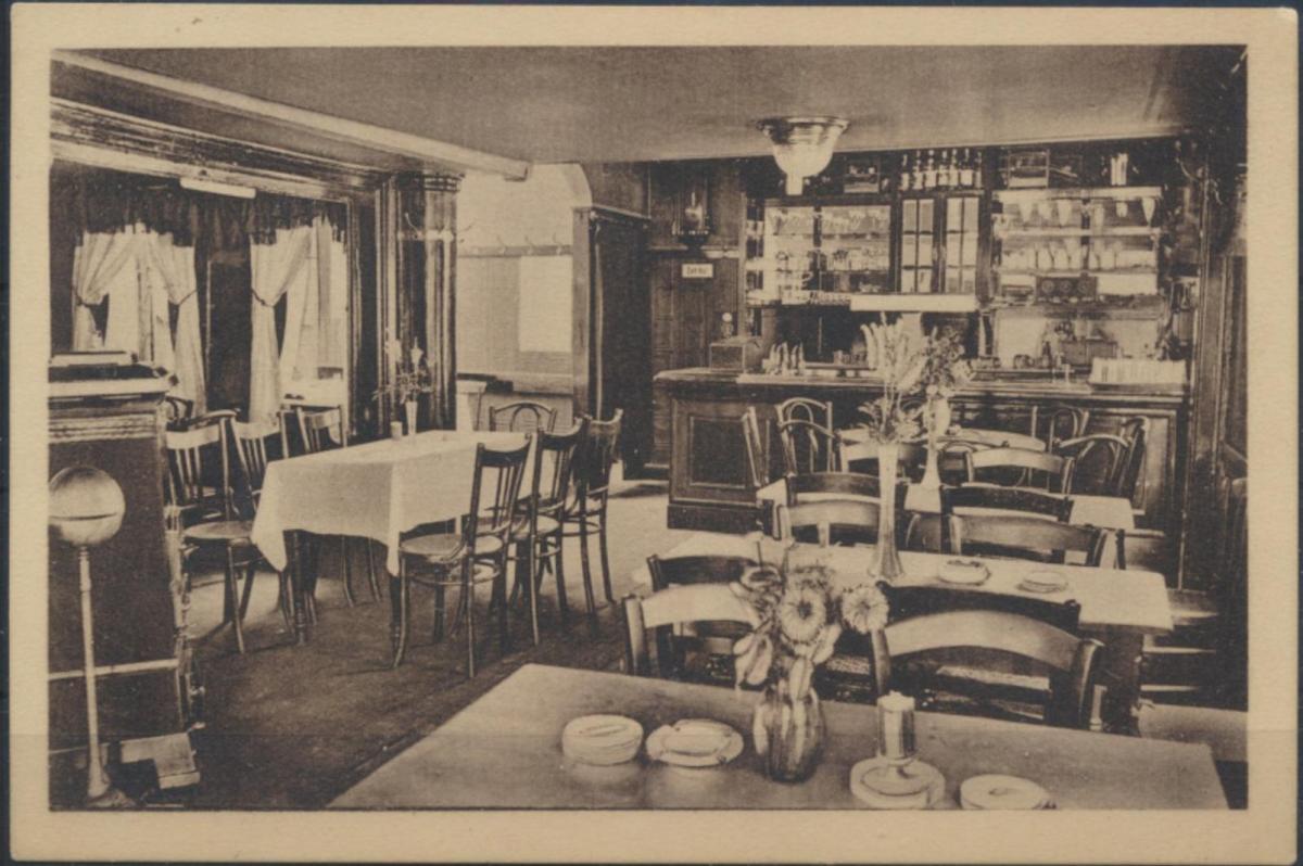 Ansichtskarte Foto Innenansicht Zum alten Markt Remscheid Inhaber Adolf Schmidt 0
