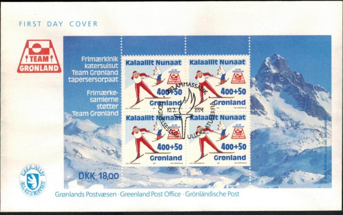 Grönland Block Wintersport Ski 1994