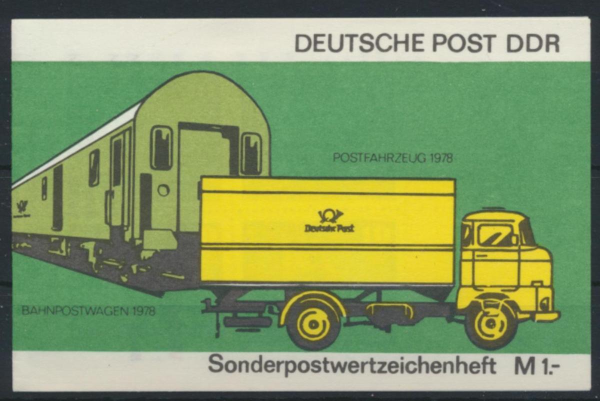 DDR Sondermarkenheftchen SMHD 9 I Luxus postfrisch