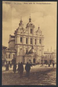 Ansichtskarte Wilna Litauen Russisch Orthodoxe Katedrale Verlag G. Pruss Berlin