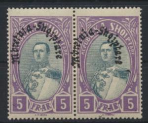 Albanien 198 im Paar Luxus postfrisch MNH 1928 Kat.-Wert 30,00 €