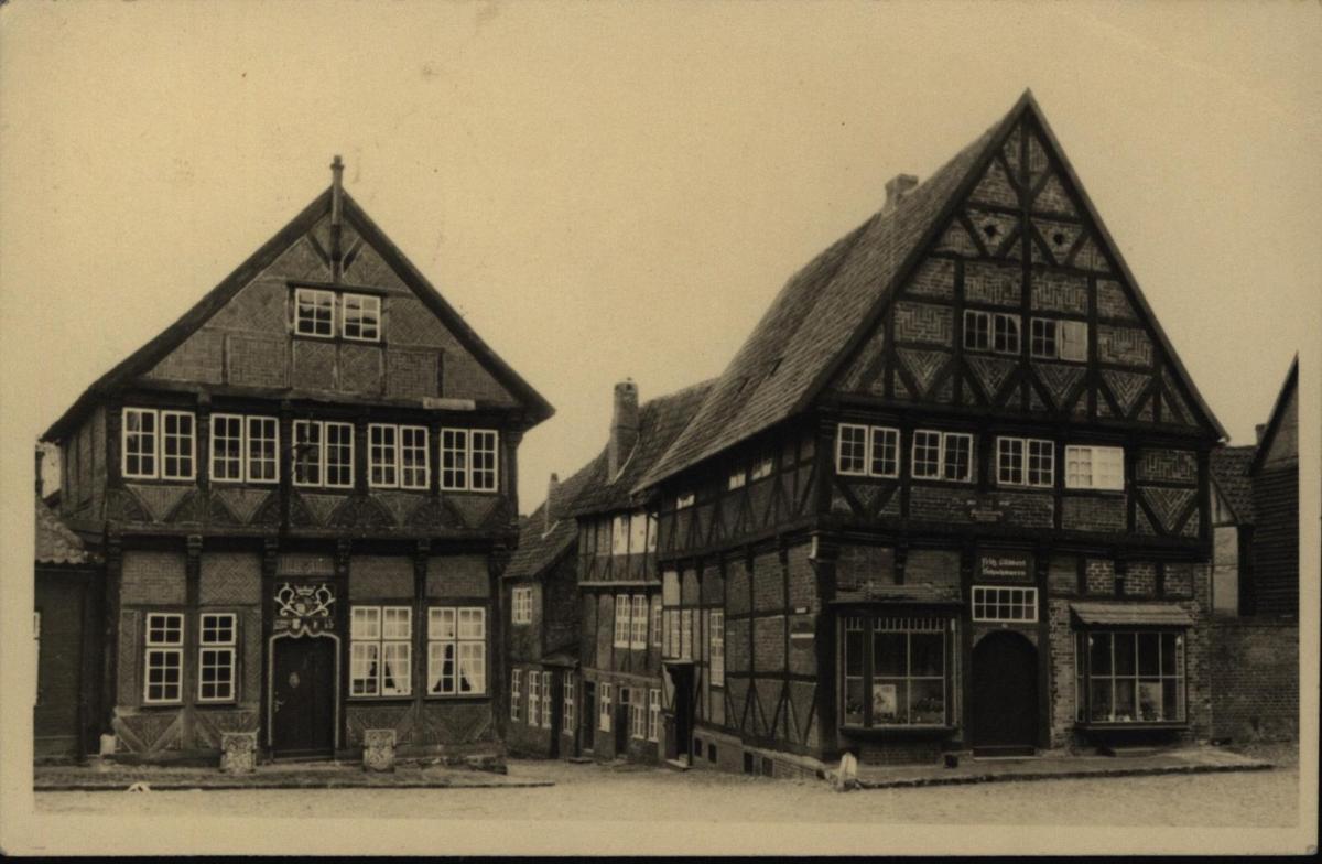 Ansichtskarte Mölln in Lauenburg Schleswig-Holstein n. Hamburg - Volksdorf 1953