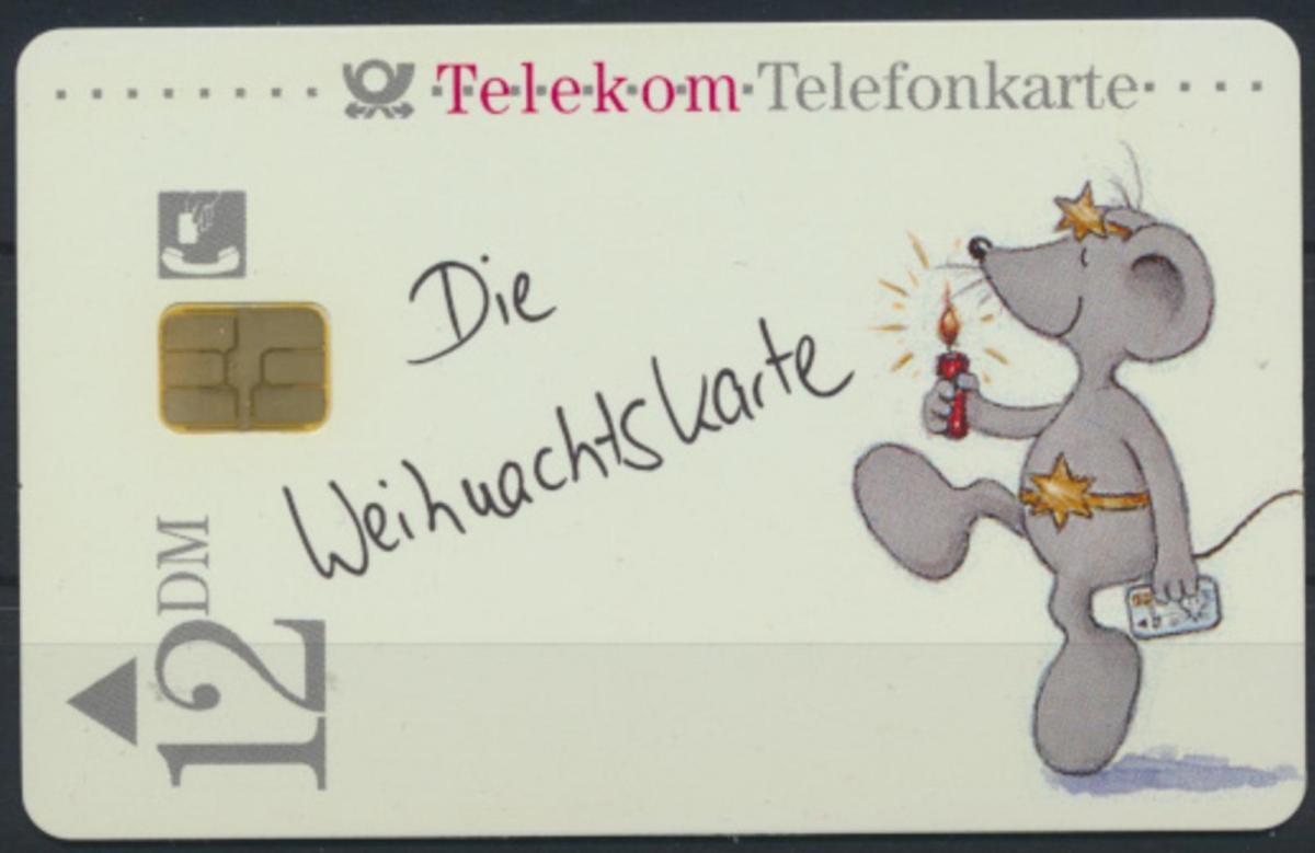 Telefonkarte Telekom Die Weihnachtskarte