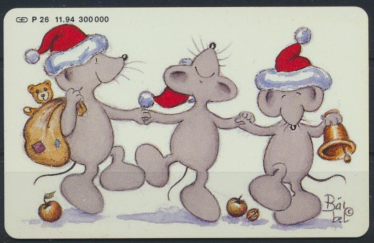 Telefonkarte Telekom Die Weihnachtskarte 1