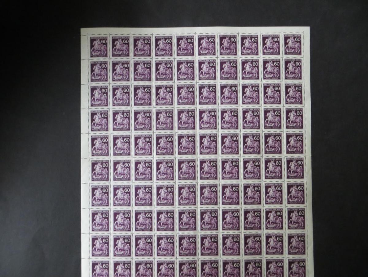 Besetzung Böhmen & Mähren 113 Bogen 100 Marken Luxus postfrisch MNH