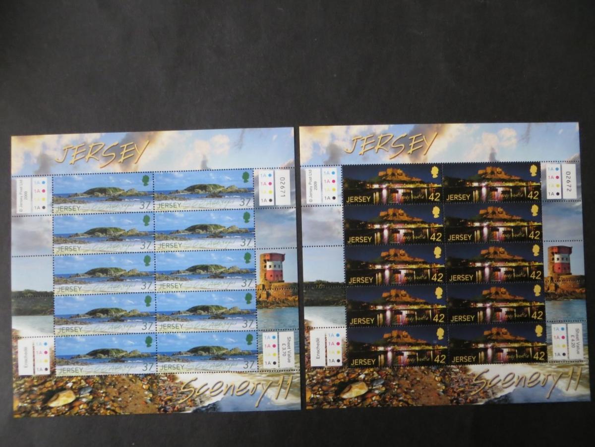 Großbritannien Jersey Kleinbogensatz 1435-40 Landschaften SEAPC Luxus postfrisch