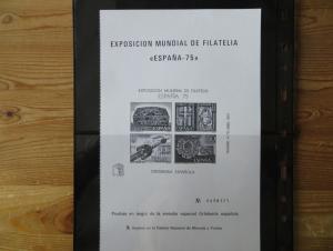 Spanien Block 19 + 20 + die Schwarzdrucke dazu + Kleinbogen 2330 Kat.-Wert 80,00