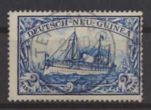 Kolonien Deutsch Neuguinea 17 gestempelt STEPHANSORT Kat.-Wert 95,00