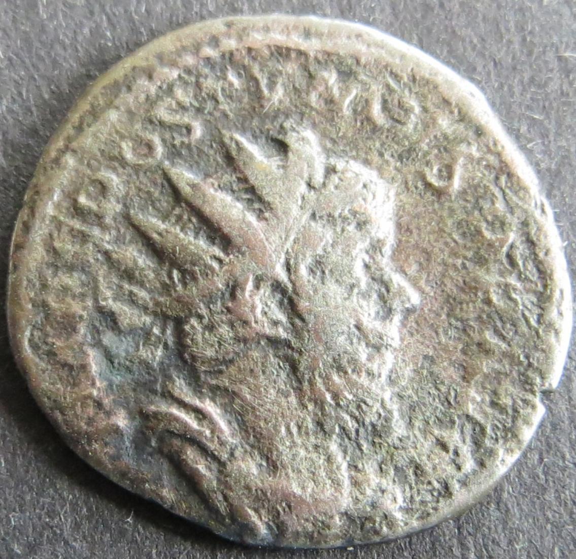 Römische Münze Postumus 260-269  Antoninian RS Pax mit Zweig s