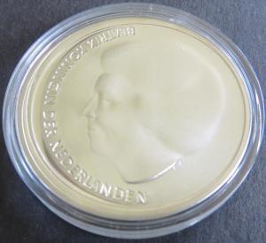 Münze Niederlande 2002  10 Euro Hochzeit Kronprinz Willem Alexander u. Maxima