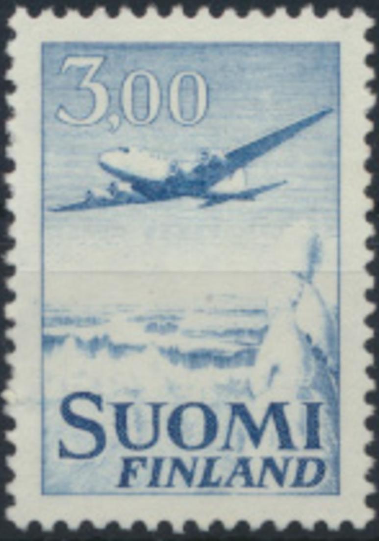 Finnland 579 x I postfrisch Freimarke Flugzeug 1963