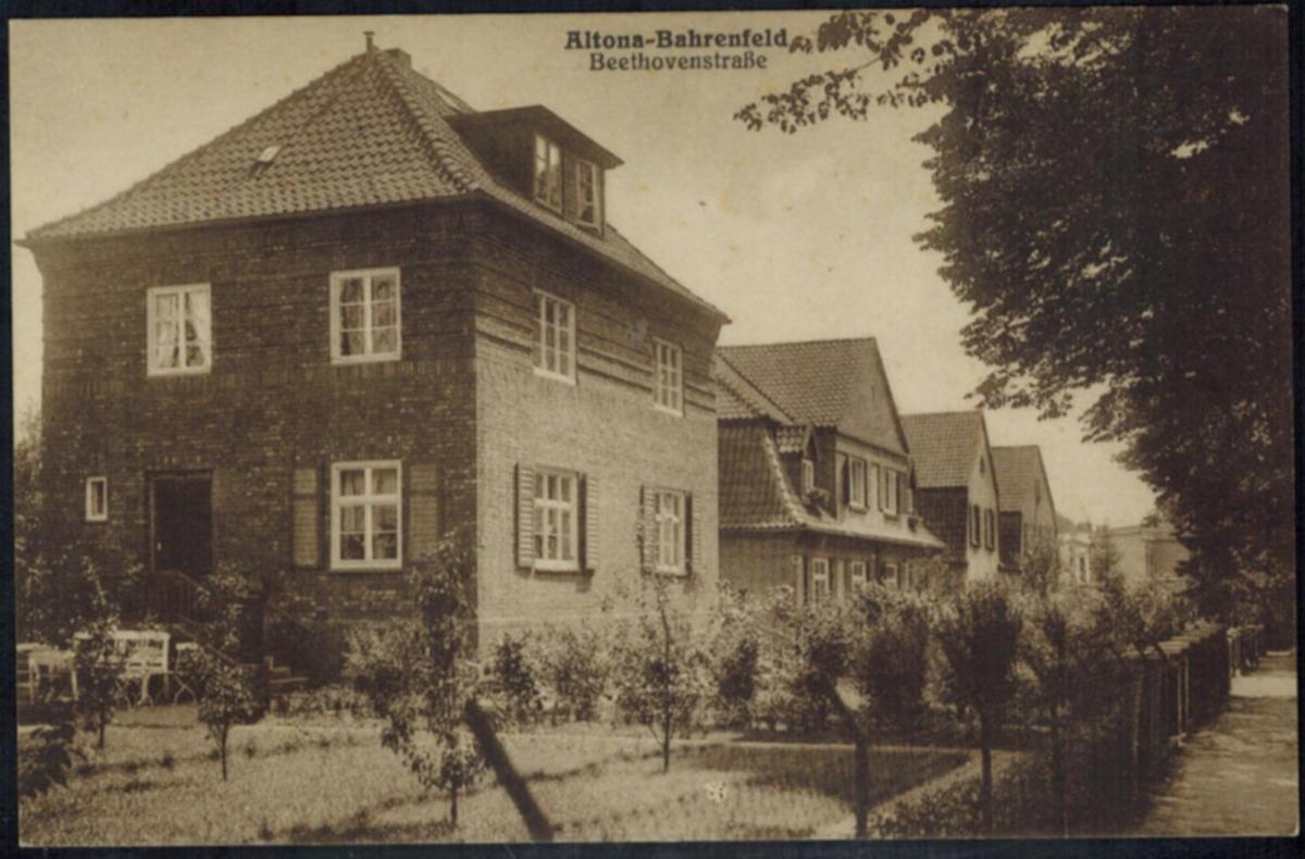 Ansichtskarten Altona Bahrenfeld Topographie Deutschland ungelaufen