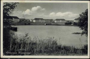 Ansichtskarte Altneuhaus Truppenlager gelaufen 1933 Oberpfalz