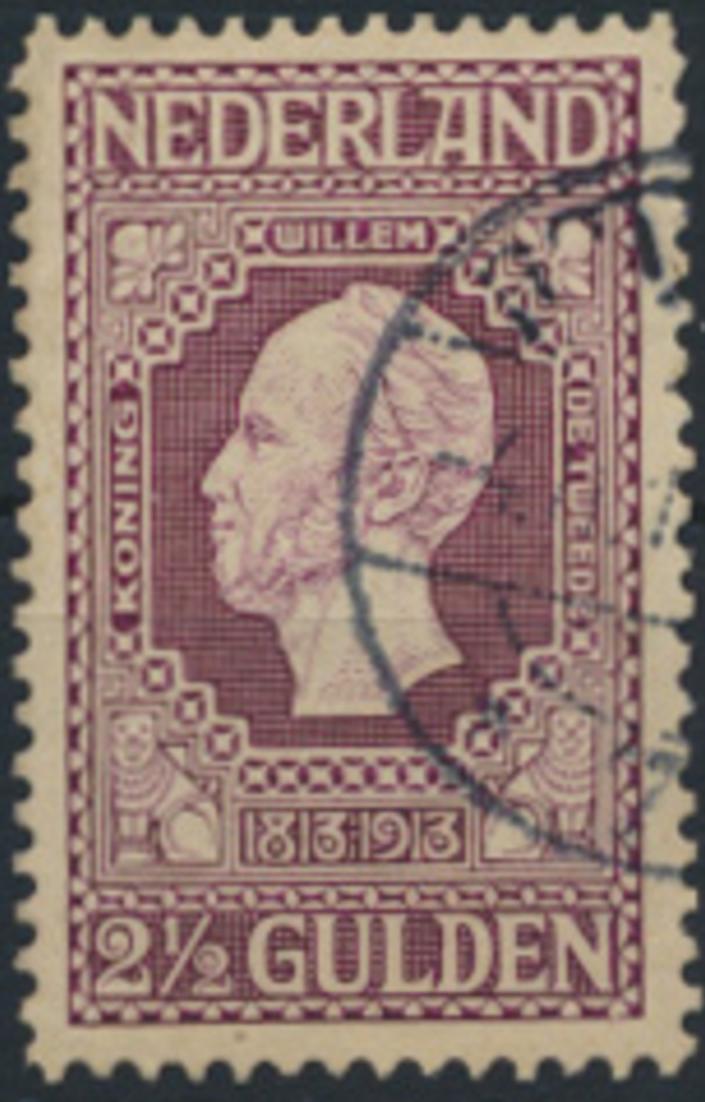 Niederlande 90 A gestempelt - 2 1/2 G Unabhängigkeit