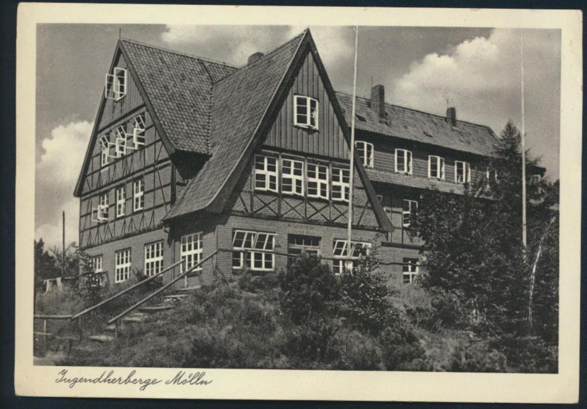 Ansichtskarte Foto Jugendherberge Mölln Till Eulenspiegel