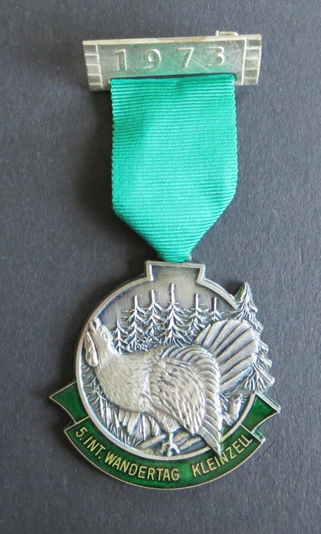 Medaille 5. Internationaler Wandertag Kleinzell 1973