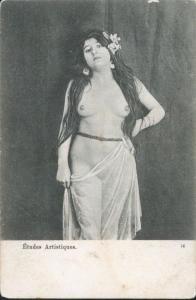 Ansichtskarte Erotik Studien Blätter Künstler Kunstgewerbe Etudes Artisiques