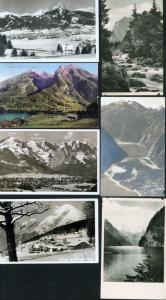 Ansichtskarten Berge/Bergsteigen 16 Stck. Tirol Wallberghaus Badersee Königsee
