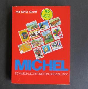 Katalog Michel Spezial Schweiz Liechtenstein 2000 wohl ungenutzt