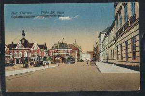 Ansichtskarte Tschechien Ostrava Mährisch Ostrau Straßenbahn ungebraucht