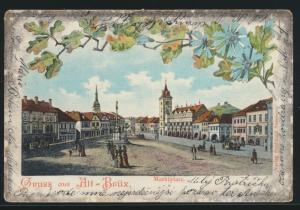 Ansichskarte Most Tschechien Alt Brüx Litho Verlag Ferdinand Sommer n. Wien
