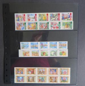 Jersey - 6 selbstklebende Ausgaben 2000-2006 gestempelt